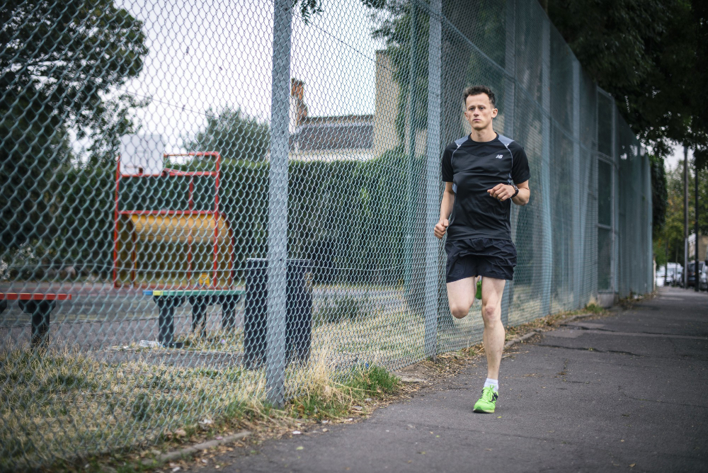 Ivo Gormley of GoodGym running