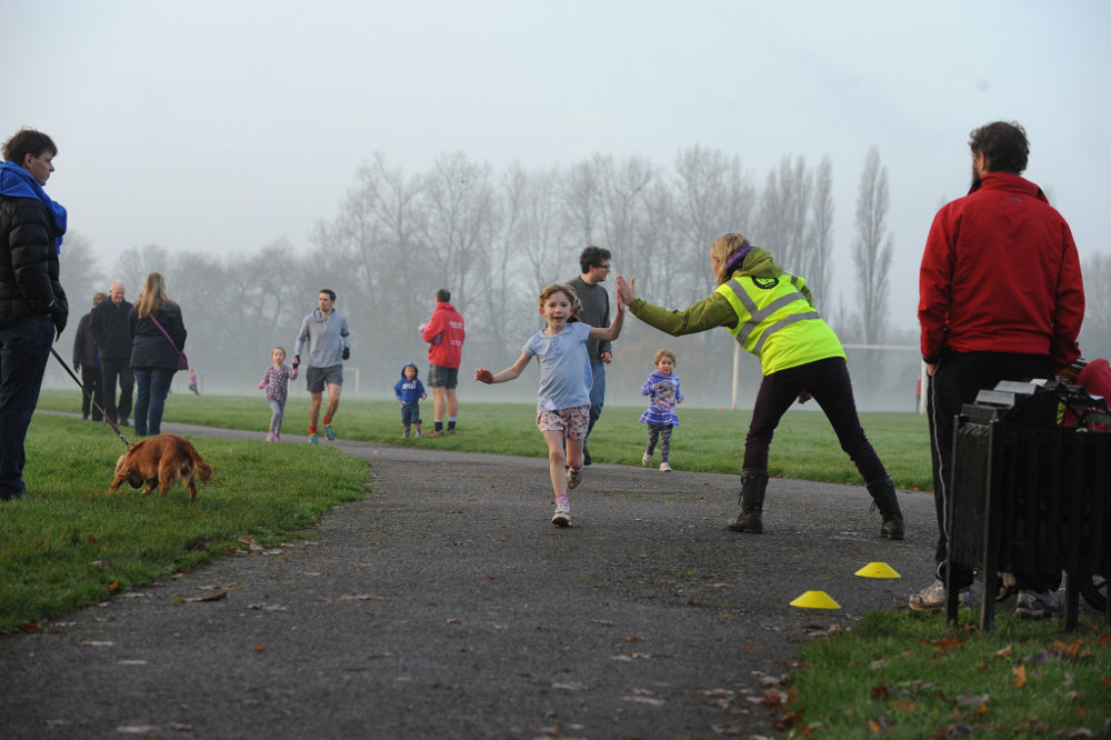 Junior parkrun High Five