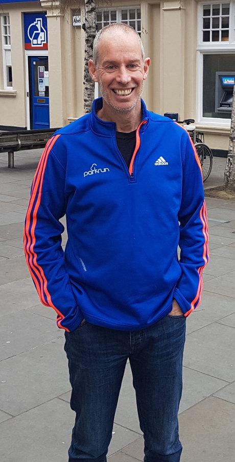 Paul Sinton Hewitt - parkrun Founder